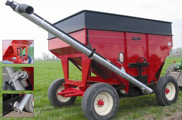 Seed Amp Fertilizer Augers Keith Siemon Farm Systems Ltd